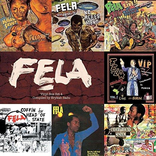 Box Set #4: Curated by Erykah Badu [Box Set] by Fela Kuti