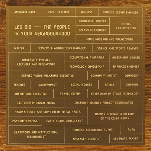 The People In Your Neighbourhood by Led Bib
