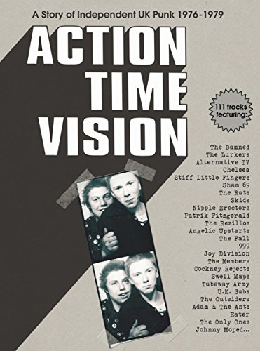 Action Time Vision: A Story of Independent U.K. Punk 1976-1979 [Box Set] by Various Artists