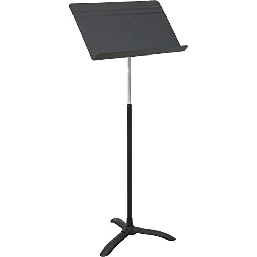 Carton of 6 Strukture Orchestral Music Stands Flat Black Free Shipping
