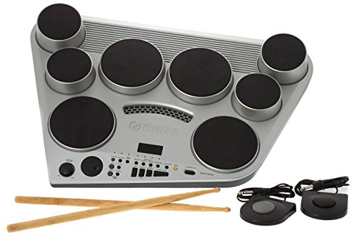 Yamaha DD-65 Portable Digital Drum Kit with Foot Pedals and Drum Sticks
