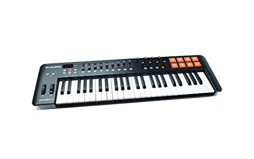 M-Audio Oxygen MKIV 49-Key USB MIDI Keyboard & Drum Pad Controller