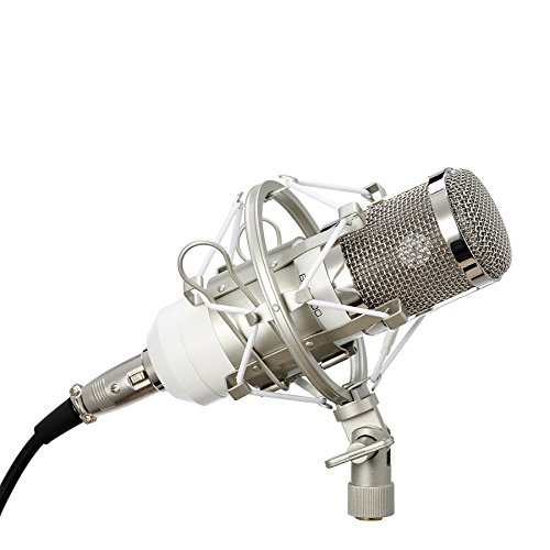 CO-Z-BM800-White-Condenser-Microphone-Recording