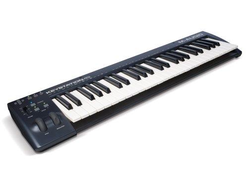 1. M-Audio Keystation 49-Key USB MIDI Keyboard Controller