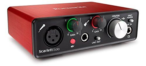 Focusrite Scarlett Solo 2nd gen