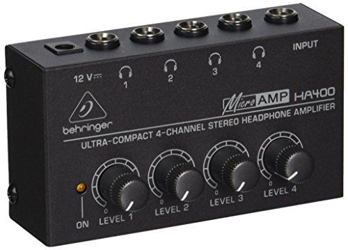 Behringer Microamp Ha400 Ultra-Compact