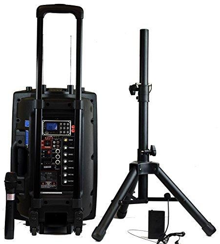 Hisonic-HS420-Rechargeable-Microphones-Connection