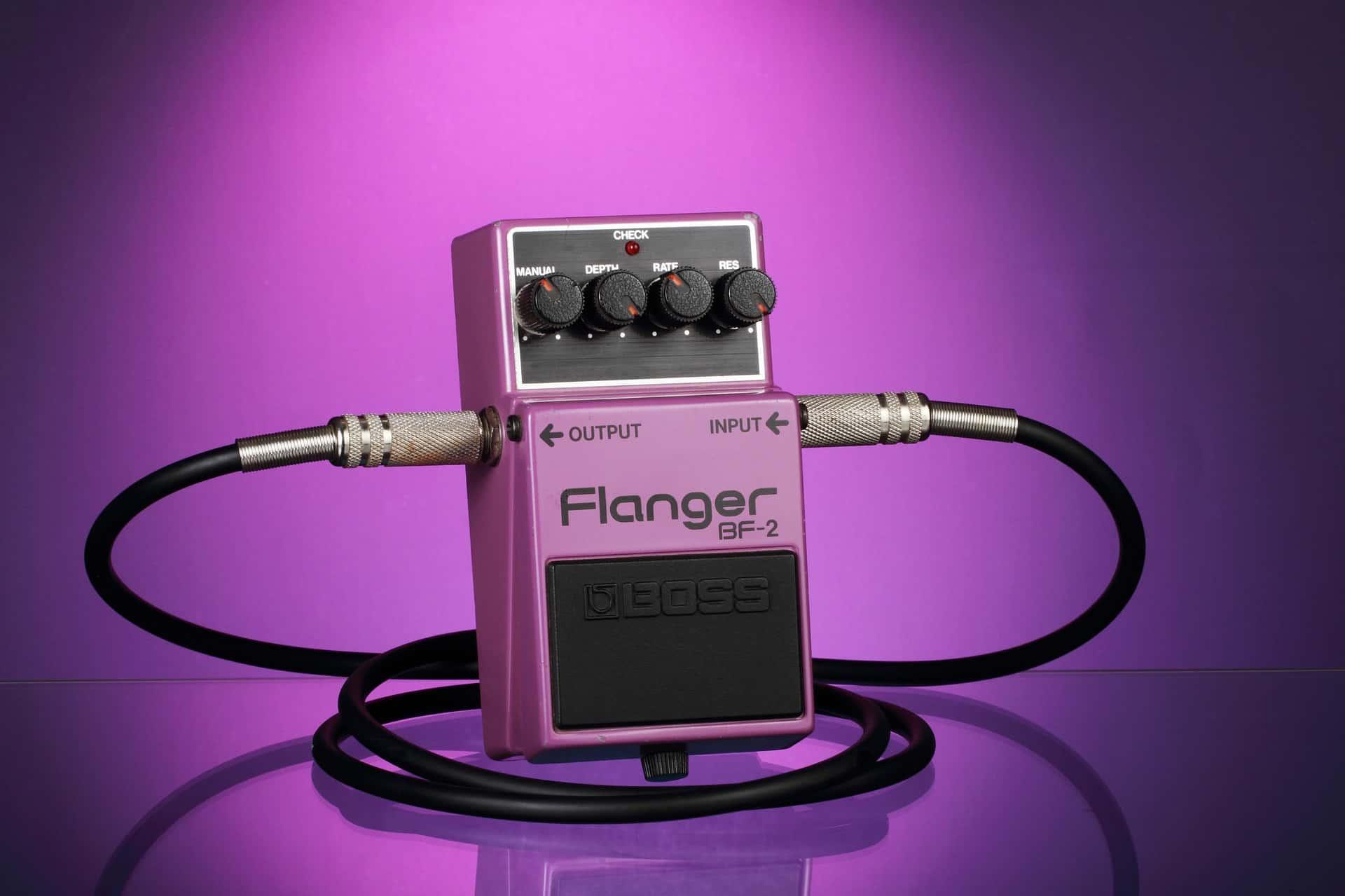 Guitar Flanger Pedal