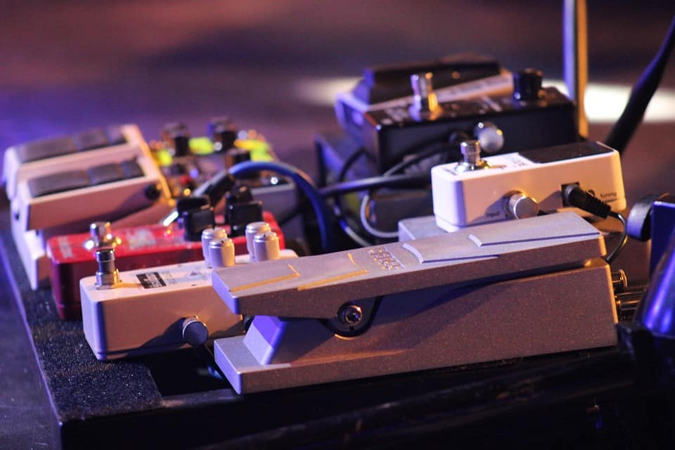 Material of Overdrive Pedal