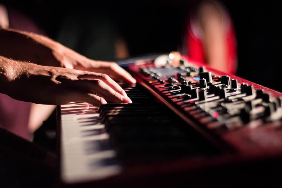 touch sensitive keyboard