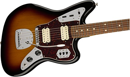 Jaguar by Fender in 3 Vintage Tone Sunburst Finish