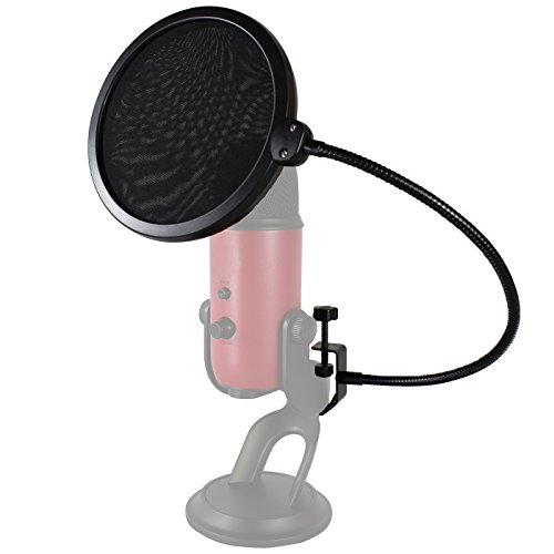 HDE 6 Inch Pop Filter Shield