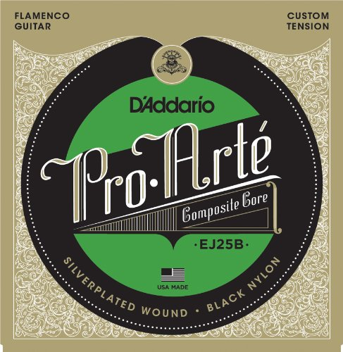 D'Addario EJ25B Pro-Arte Flamenco guitar strings custom tension