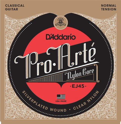 D'Addario EJ46 Pro-Arte Composite nylon classical guitar strings normal