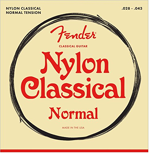 Fender Classical normal tension guitar strings