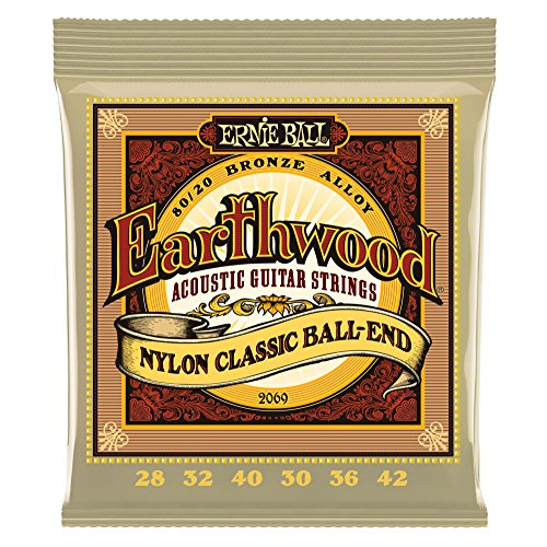 Ernie Ball Earthwood Folk nylon strings