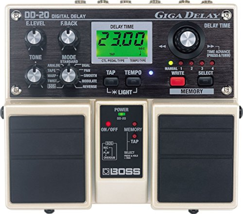 Boss DD-20 Giga Delay digital pedal
