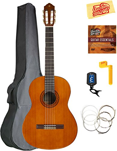 Yamaha CGS104A Full-Size classical guitar bundle