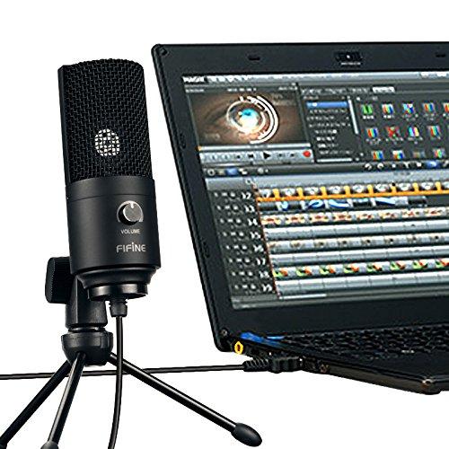FiFine cheap condenser usb mic for recording
