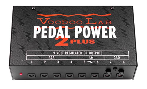Voodoo Lab Pedal Power 2 Plus isolated supply