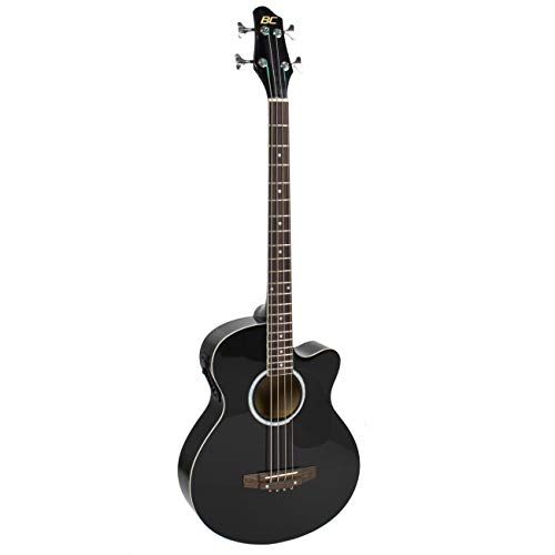 22-Fret Full-Size Acoustic-Electric Bass