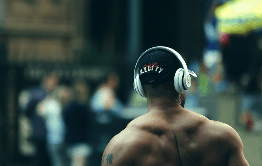 Headphone for working out