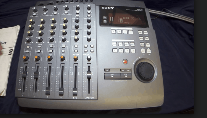 Multitrack recorder