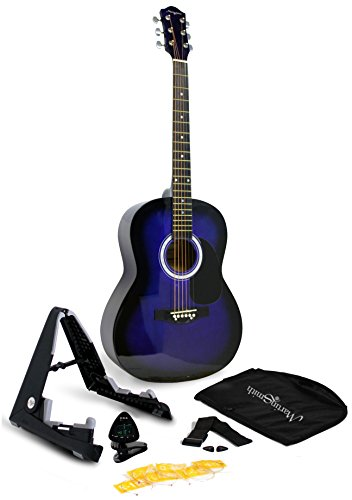 Martin Smith 6 String Acoustic Guitar SuperKit