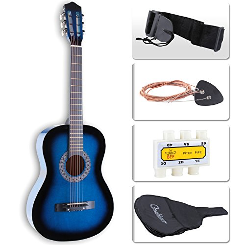 Lagrima Acoustic Guitar Beginners with Guitar Case