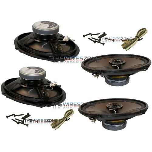 "Pioneer 250 Watts 6 x 8"" 4 ohms 2-Way G-Series Coaxial Full Range"