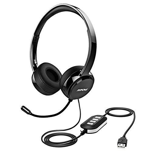 Mpow 071 USB Headset/ 3.5mm Computer Headset