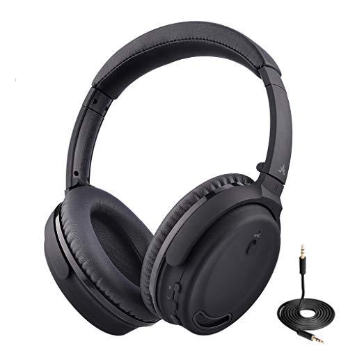 Avantree Active Noise Canceling Bluetooth 4.1 Headphones