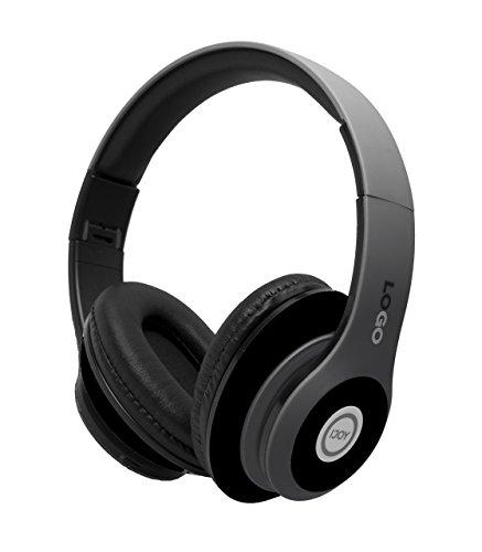 iJoy Matte Finish Premium Rechargeable Wireless Headphones