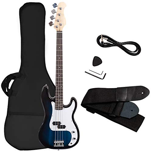 Goplus Electric Bass Guitar Full
