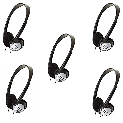 Panasonic Headphones On-Ear Lightweight