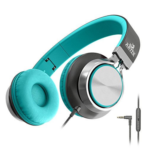 Artix Foldable Headphones with Microphone