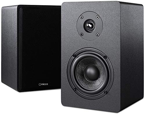 Micca PB42X Powered Bookshelf Speakers