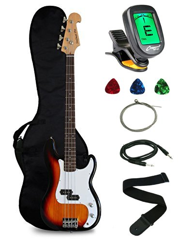 Crescent Electric Bass Guitar Starter