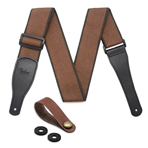 Best Sounds Guitar Strap 100% Soft Cotton