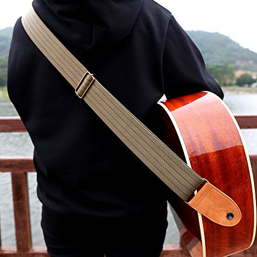 Tifanso Guitar Strap, Soft Cotton