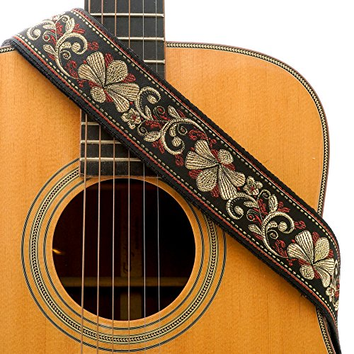 CLOUDMUSIC Guitar Strap Jacquard Weave
