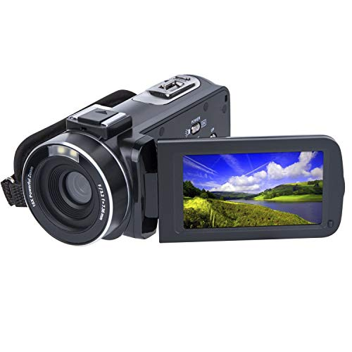 SOSUN Video Camera Camcorder HD 1080P