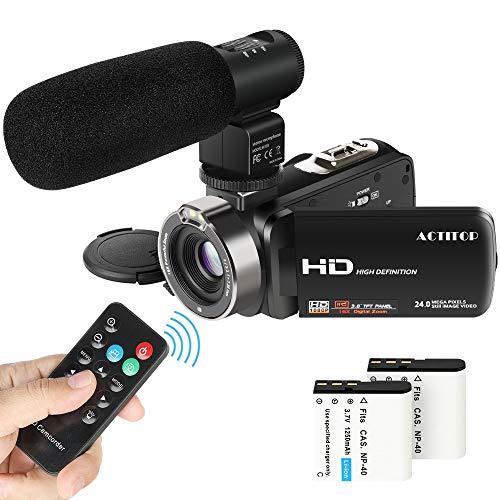 Actitop Video Camcorder,ACTITOP 1080P FHD