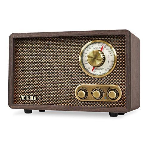 Victrola Retro Wood Bluetooth FM/AM Radio