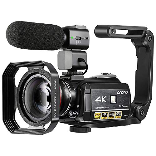 Ordro 4K Camcorder, ORDRO AC3 Ultra HD Video