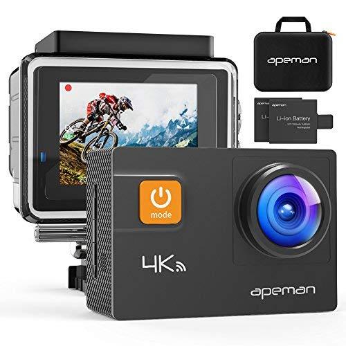 APEMAN Action Camera 4K 20MP