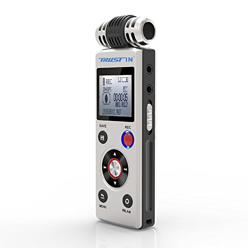 Trustin Professional Digital Audio Voice Recorder
