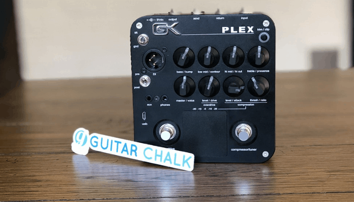 Preamp bass pedal