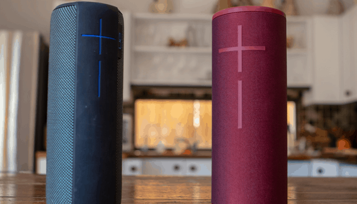 Two Bluetooth speaker