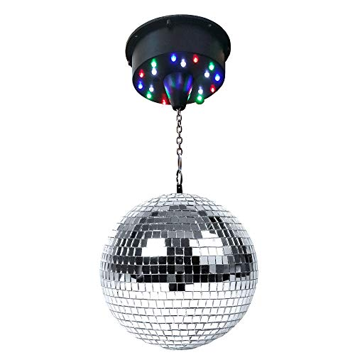 LED Mirror Disco Ball Party Light